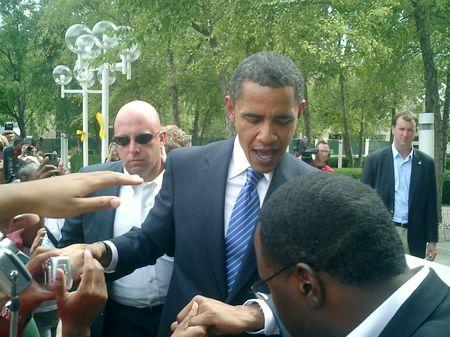 Obama's Hand