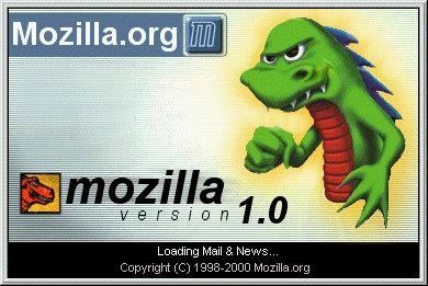 Mozilla v1.0 splash