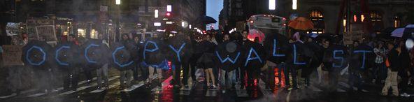 Occupy Wall Street Umbrellas