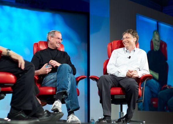 Steve Jobs & Bill Gates