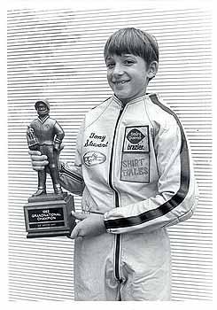 Tony Stewart, karting champ at 12
