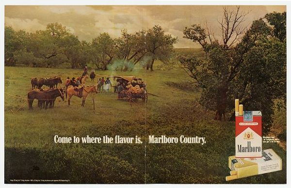 Come to where the flavor is. Marlboro Country.