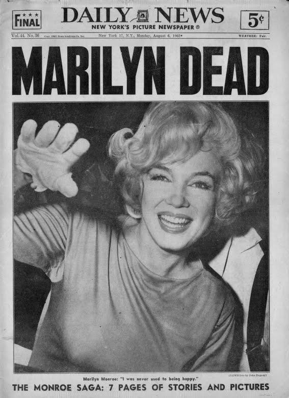 Marilyn Monroe Dead
