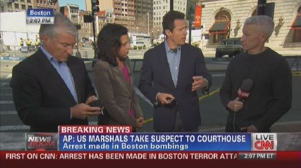 First on CNN: Arrest has been made in Boston terror attack