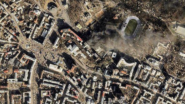 Kiev Ablaze