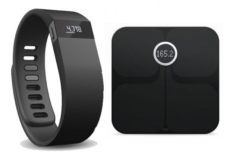 Fitbit Charge HR and Aria Scale