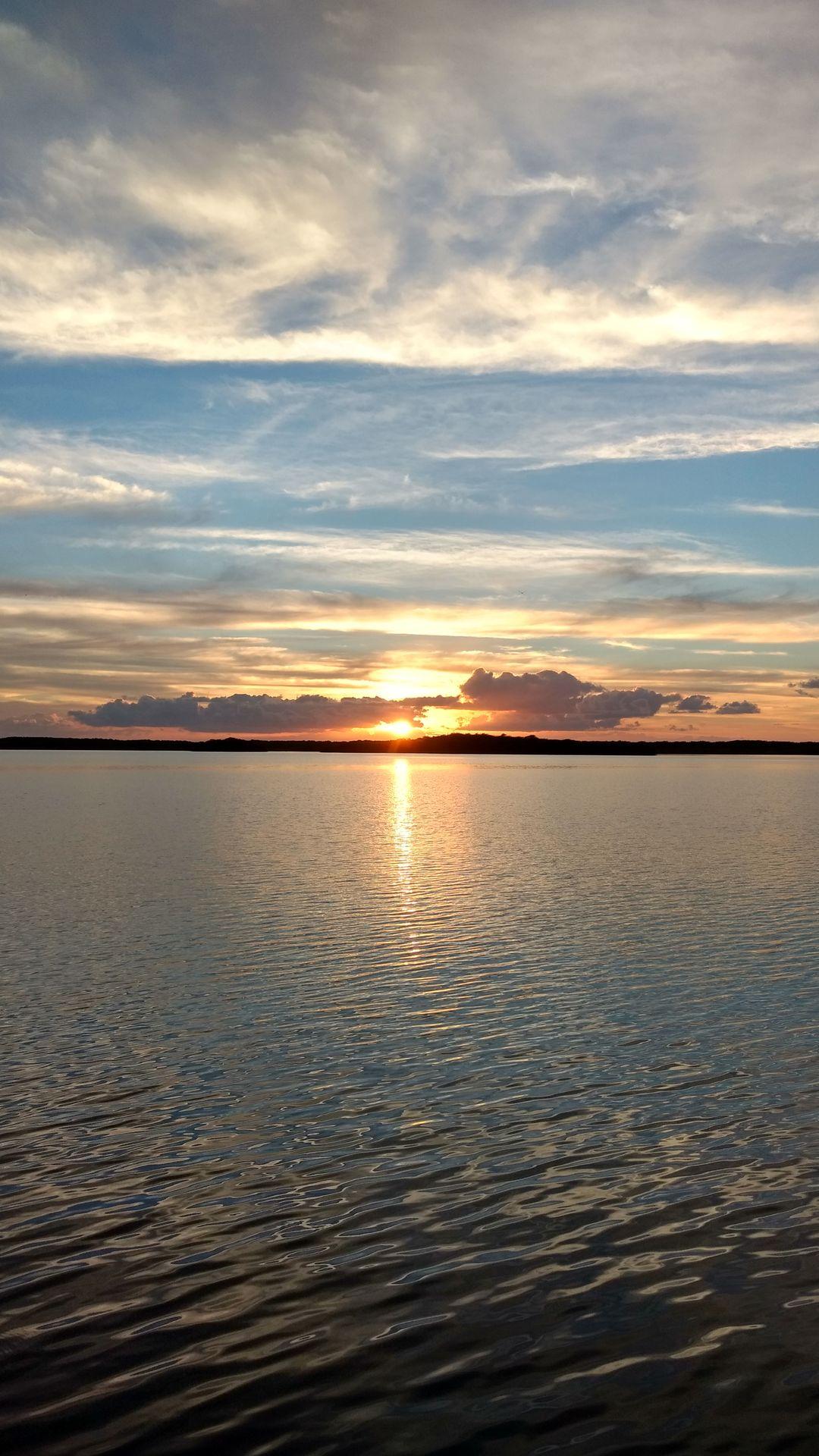 Sunrise on Largo Sound